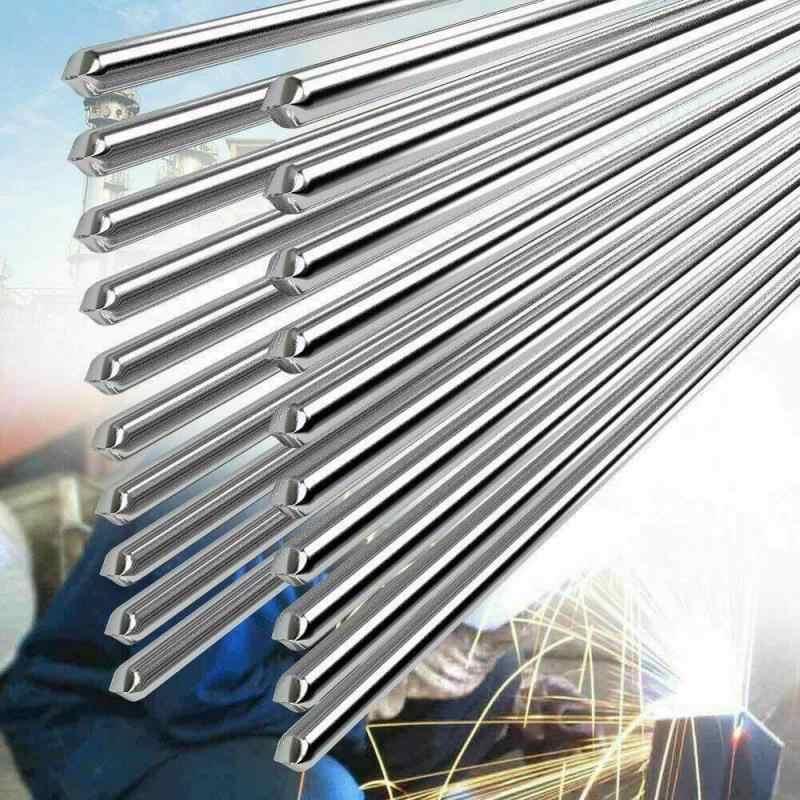 Aluminium Lassen Solderen Staaf Lage Temperatuur Aluminium Lasdraad Elektroden Zilver Super Gemakkelijk Smelt Draad Soldeer Gevulde 1.6/2mm
