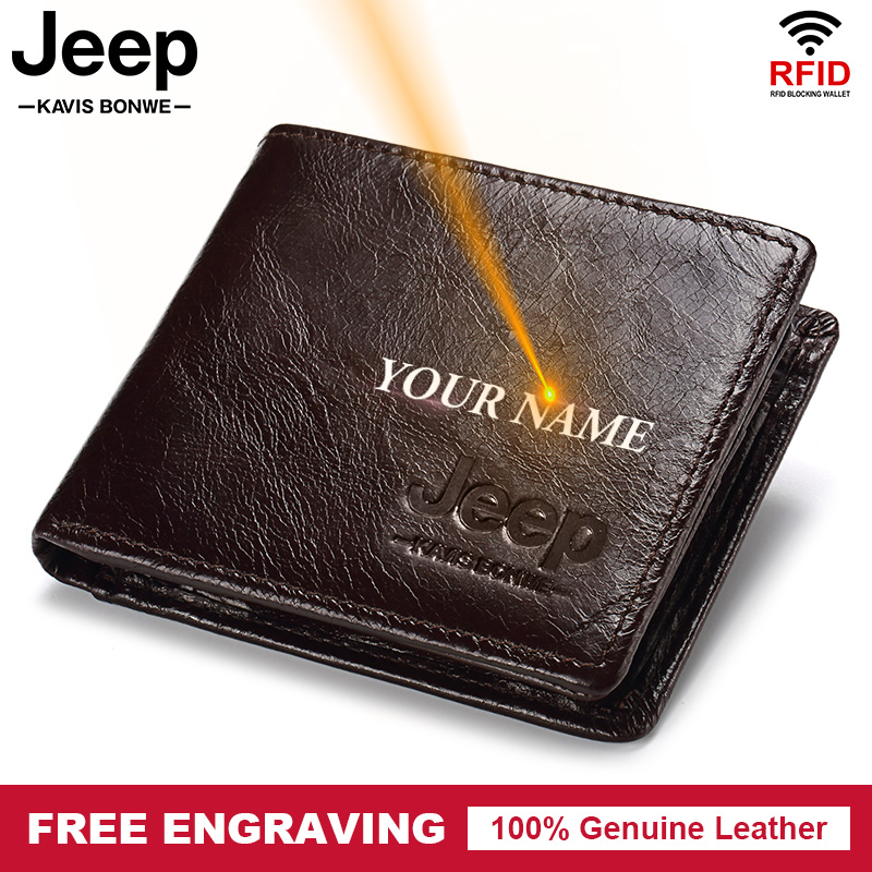 Rfid 100% Genuine Leather…