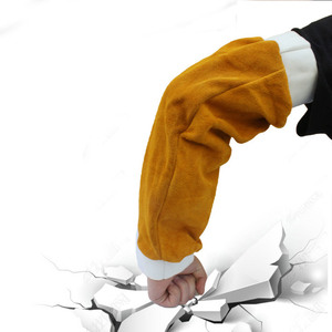 Image 3 - 1 Paar Hittebestendige Lassen Arm Mouwen Bescherming Manchet Veiligheid Voor Werknemers NC99