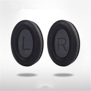 Image 4 - Sheepskin สำหรับหูฟัง BOSE QC35 QC25 QC2 QC15 AE2 หูฟังชุดหูฟังหน่วยความจำเปลี่ยนโฟม EAR Pads เบาะ Muffs หูฝาครอบ
