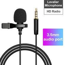 Tipo prendido mini do grampo da amplificação 1.5 ° do microfone portátil de 360 m apenas para dispositivos da relação de TYPE-C/3.5mm para o telefone para o portátil