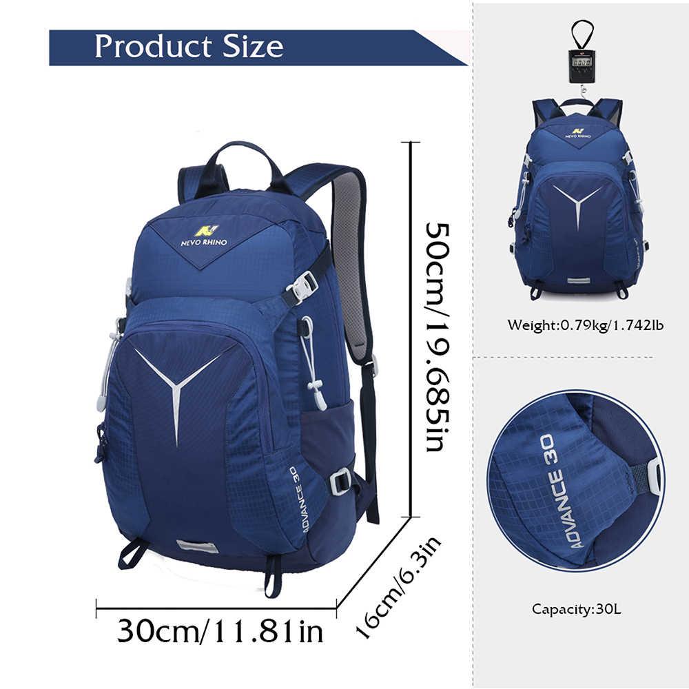 30L большой емкости походный спортивный рюкзак мужской повседневный 2019 новый унисекс альпинистский дорожный рюкзак Оксфорд водонепроницаемые мужские рюкзаки