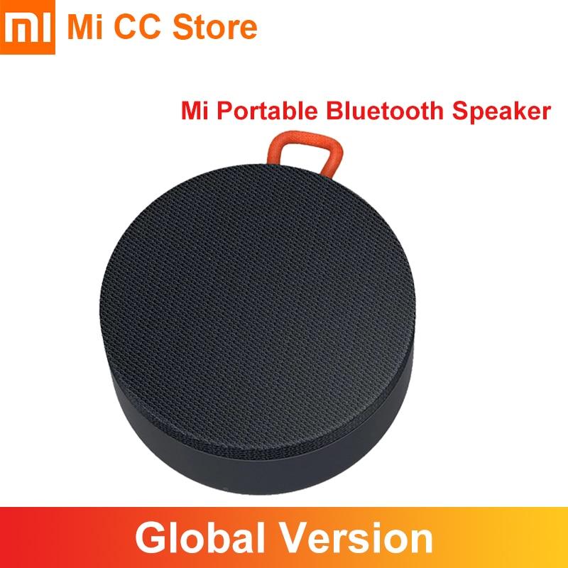 En Stock Xiaomi Mi Portable Bluetooth haut-parleur intégré 2000mAh batterie IP55 sortie étanche sans fil Mini haut-parleur Bluetooth