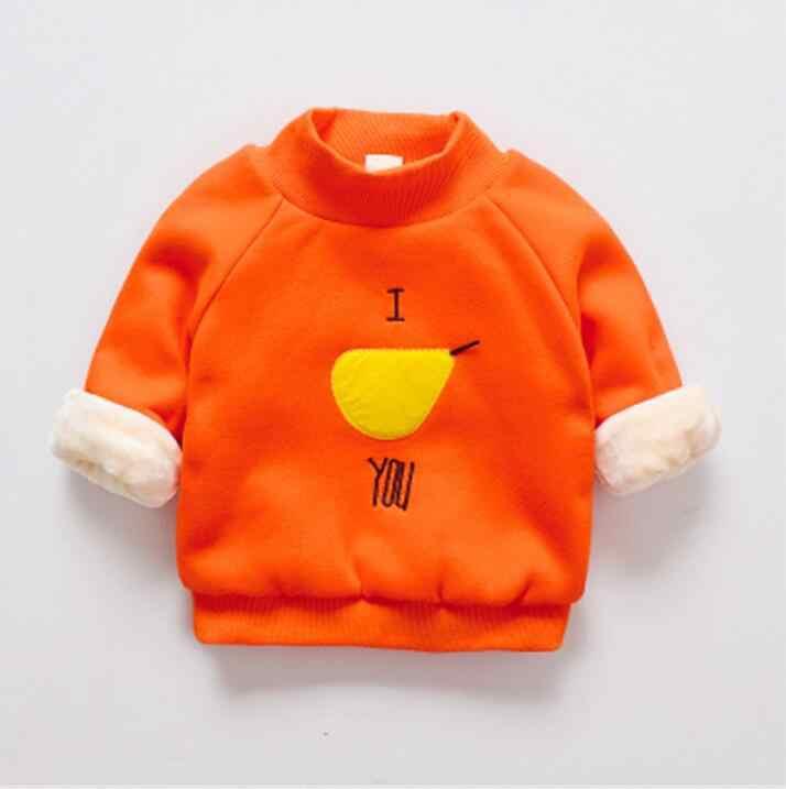 BibiCola เด็กหญิงฤดูใบไม้ร่วง/ฤดูหนาวคริสต์มาสสวมใส่เสื้อการ์ตูนเด็ก pullovers outerwear เสื้อผ้าเด็กแรกเกิด