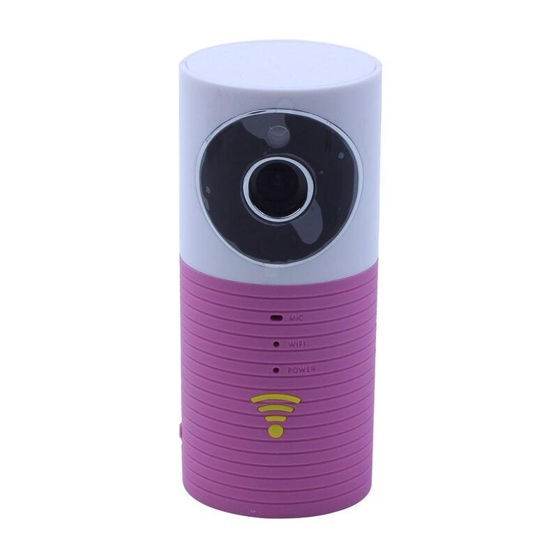 Vision nocturne sans fil Surveillance WIFI caméra ou bureau caméra réseau-rose