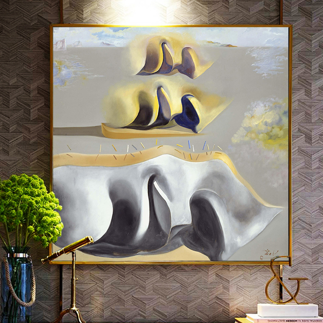Salvador Dali The mystery of Dara's paintings Gala Canvas Painting Posters Prints Wall Art Picture for Living Room Decor Cuadros 1