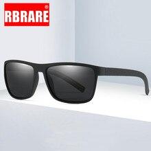 RBRARE Polarized Sunglasses Men Square Mirror Sun Glasses Fo