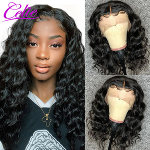 Image 4 - Celie Loose Deep Wave Wig 28 30 Inch Lace Front Human Hair Wigs For Black Women 360 Lace Frontal Wig PrePlucked Human Hair Wigs