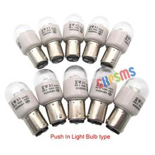 10 Chiếc LED BA15D 220 Volt Đẩy Trong Loại Bóng Đèn LED Phù Hợp Với Kenmore Pfaff Bernina Ca Sĩ