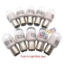 10 PCS LED BA15D 220 Volts Push In Type LED Light Bulbs fit for Kenmore PFAFF Bernina SINGER
