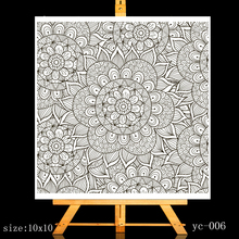 ZhuoAng Floral pattern Clear Stamps/Card Making Holiday decorations For  scrapbooking Transparent stamps 10*10cm