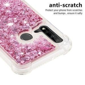 Image 4 - Liquid Quicksand Phone Cases for Huawei P20 Lite Mate 30 Lite Nova 5i Nova 5i Pro Case Glitter Love Heart Stars TPU Bumper Coque