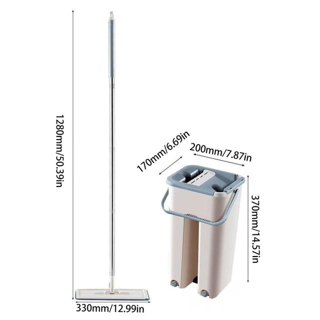 Spray Magic Automatic Mop Avoid Hand Washing Ultrafine Fiber Cleaning Cloth Home Kitchen Wooden Floor Lazy Fellow Mop