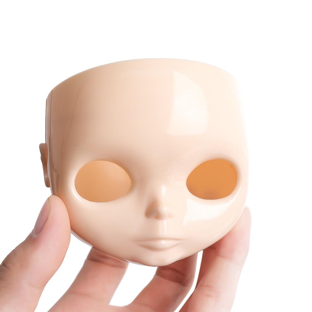 1 шт. 1/6 Blyth фабричные куклы «сделай сам», лицевая панель с задней пластиной 30 см, пластиковая крышка без макияжа, лица и винта, игрушки, аксесс...