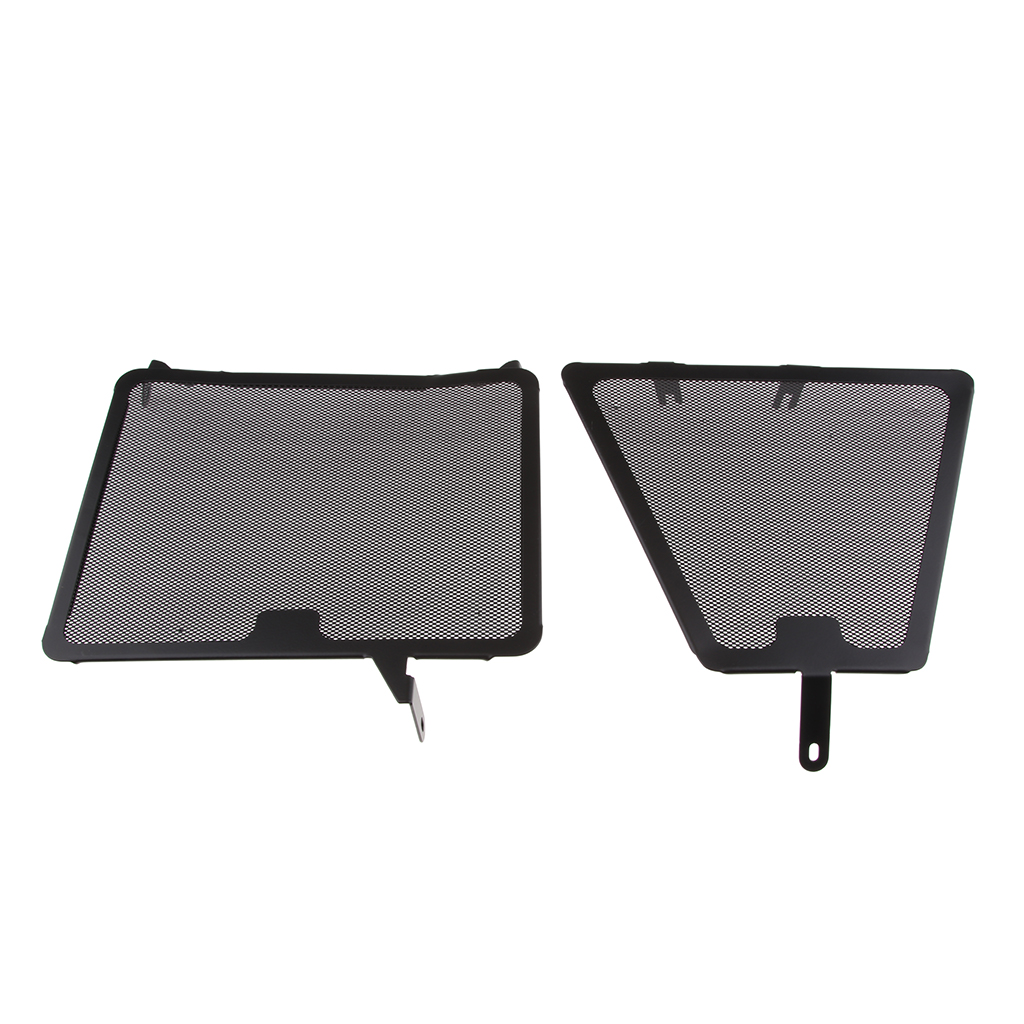 Replacement Radiator Grill Guard Cooler Cover Protector For Ducati 848 / 1098 (Black)