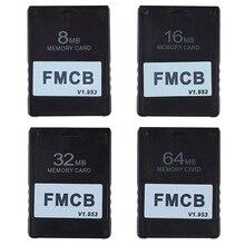 FMCB V1.953การ์ดสำหรับPS2 Playstation 2ฟรีMcBootการ์ด8 16 32 64MB WXTB