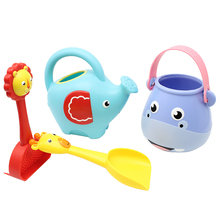 Children Take A Shower Toys Baby Water Animal Water Spray Baby Sandy Beach Swimming Play Sand Knead set