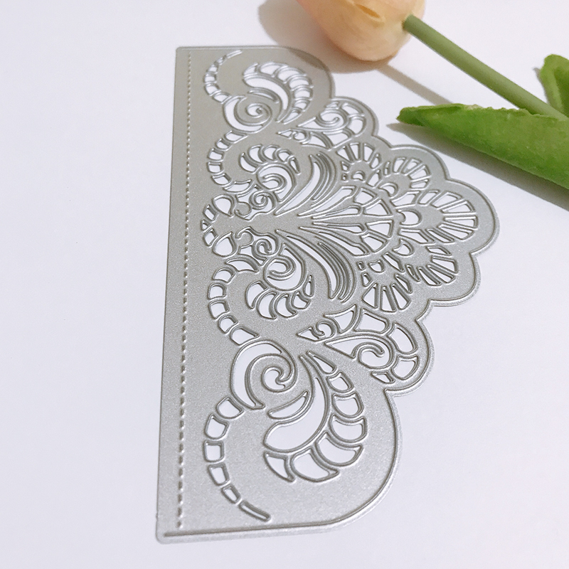 Lace  Metal Cutting Dies New 2019 Flower border Crafts Die Cuts For DIY Scrapbooking Paper Cards wedding