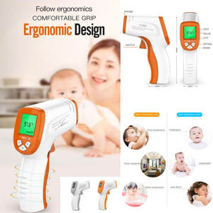 Baby Infrared Non-Contact Body-Measurement Fever Digital Children Adult LCD Drop-Ship