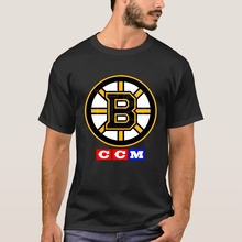CCM HOCKEY MENS BOSTON BRUINS VINTAGE GRAPHICS SHORT SLEEVE T-SHIRT