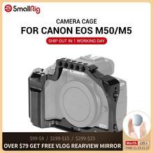 SmallRig M50 Kamera Käfig für Canon EOS M50/Für Canon M5 für Vlog W/ Nato Schiene Kalten Schuh halterung Für video Vlogging 2168