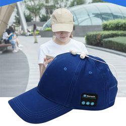 Casque sans fil Bluetooth écouteur pour Bluetooth musique casquette hommes/femmes loisirs de plein air mains libres appel Baseball chapeau