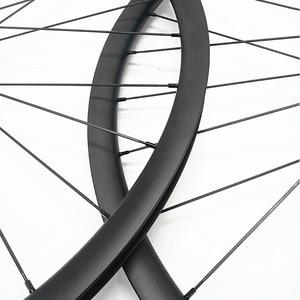 Image 5 - Велосипедное колесо 29er для горного велосипеда, асимметричное заднее колесо D792SB 148x12 мм, карбоновые горные колеса, бескамерные 1423 спицы