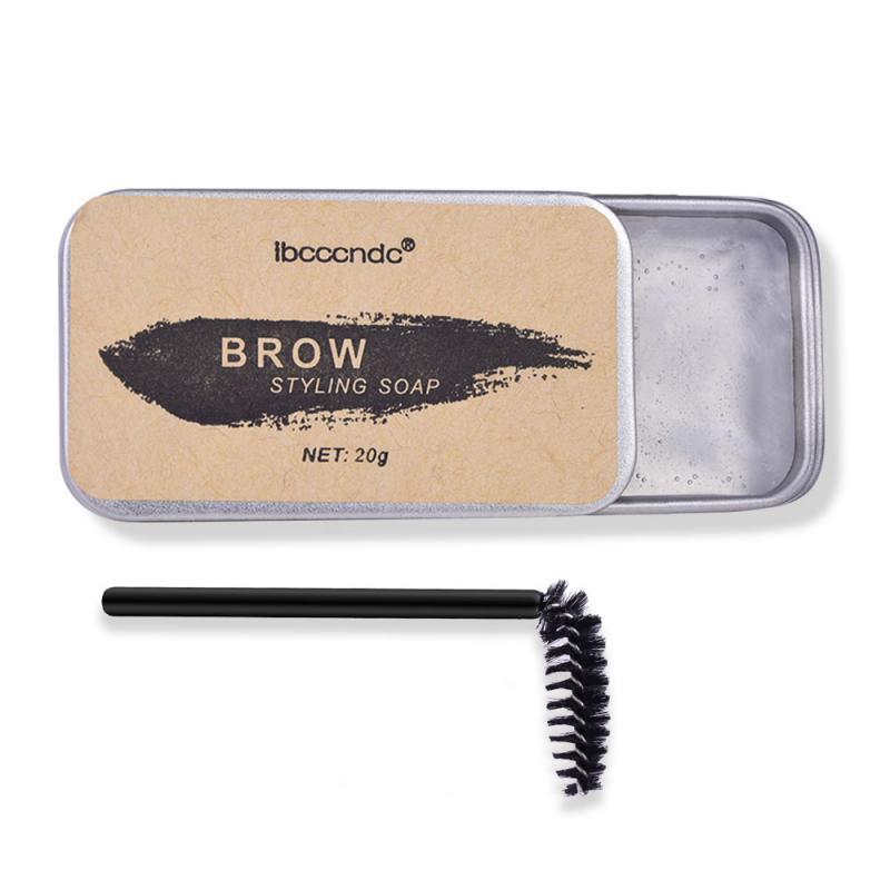 Натуральный восковой Воск для бровей, долговечное водостойкое мыло, крем для бровей, тату-краска, тинт-ручка, усилитель бровей, гель для маки...