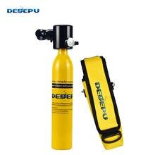Dedepu подводное плавание дыхательное оборудование 05л кислородный
