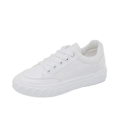2020 spring new white shoes women's autumn models explosion models flat shoes Korean students wild canvas tide shoes shoes