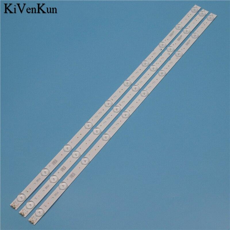 TV Lamps LED Backlight Strips For Haier LE32B310N LE32B8000T LE32B8500T Bars Kit LED Bands LED315D10-07(B) -ZC14-07(A) Rulers