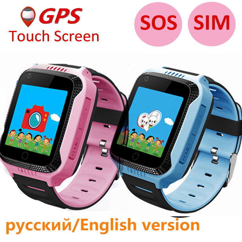 Q529 Kid's Smart Watch IP67 Deep Waterproof 2G SIM Card GPS Tracker SOS Anti-lost Smart Watch For IOS Android Russian Version