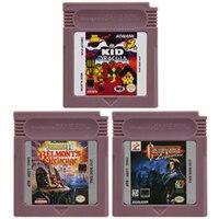 цена на Video Game Cartridge Console Card 16 Bits Castlevania Series For Nintendo GBC English Version