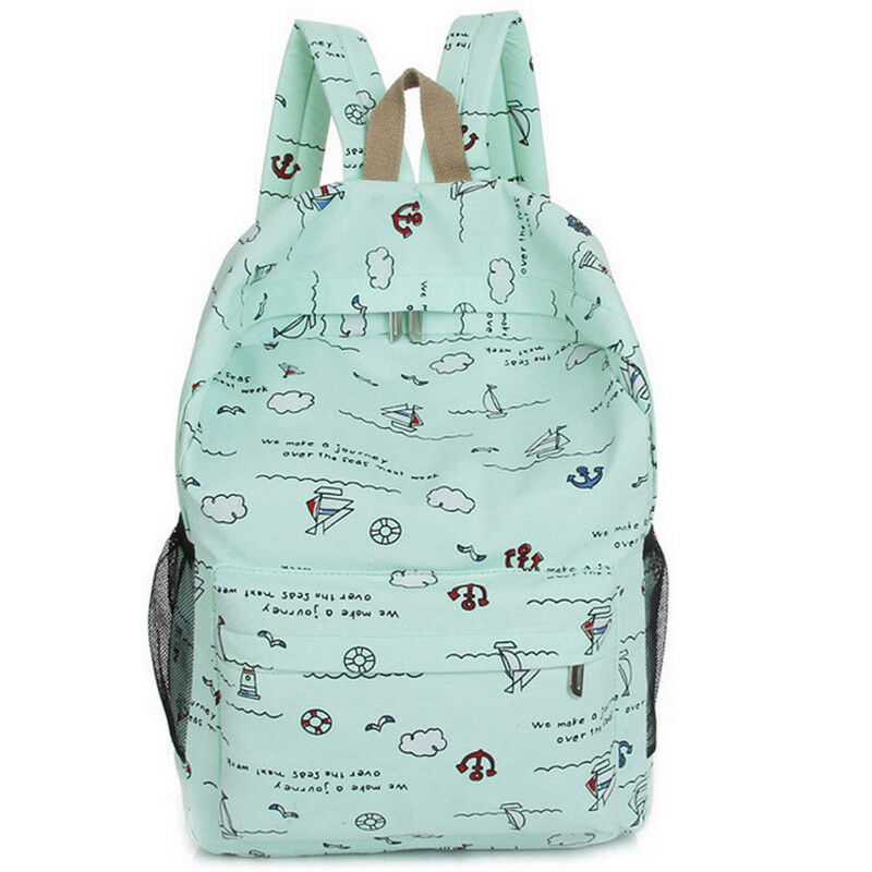 Versatile Lightweight Canvas Bag Boys And Girls Casual Backpack 2019 New Fashion Korean Book Backpack