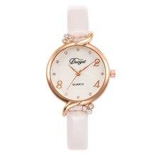 Montre femme, маленькие и нежные женские часы с тонким ремешком, Модные Кварцевые женские кожаные часы с тонким ремешком, женские часы А4