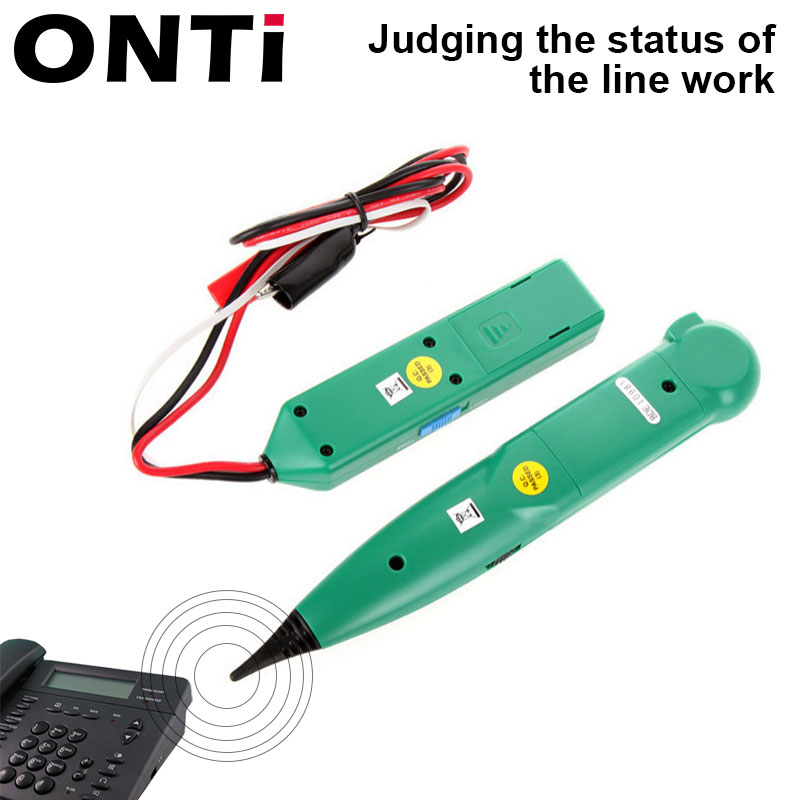 ONTi Professional LAN Network Cable Tester for UTP STP Cat5 Cat6 Telephone Phone Wire Tracker Tracer Line Finder 2