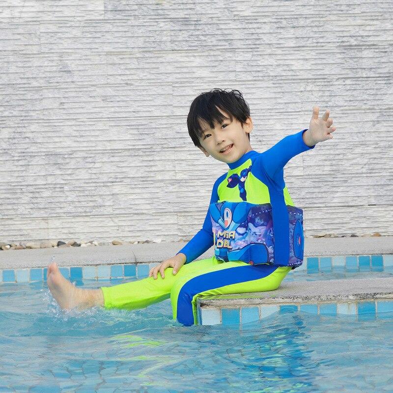 Children Buoyancy Tour Bathing Suit Baby CHILDREN'S Bathing Suit GIRL'S Girls Infant BOY'S One-piece Floating Escape Training