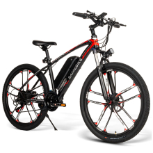 26 Inch Electric Bike Power Assist Electric Bicycle E-Bike 350W Motor Moped Bike