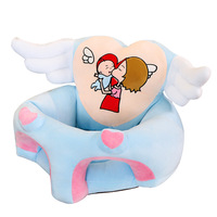 New Angel Wing Children's Learning Sofa Cartoon Plush Toys Children's Holiday Gifts Factory Direct Supply Plush Warm