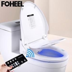 Image 4 - Fotalon housse de siège de toilette intelligent, couverture électronique de bidet, assise propre et sèche, chauffée