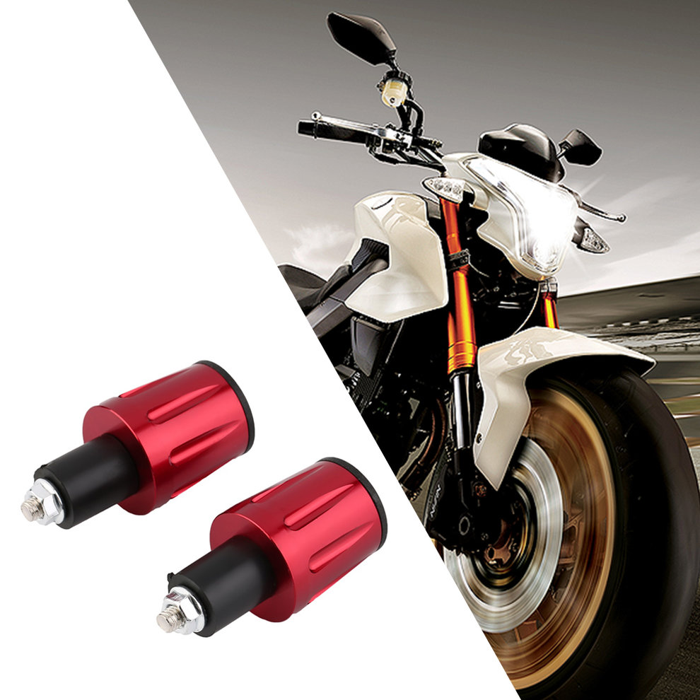 7/8 CNC Universal Motorcycle Handlebar Grip Ends Weights Anti Vibration Silder Plug Bar Ends Plugs Free Shipping