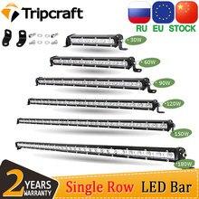 Tripcraft Single Row super Slim LED Light bar 7