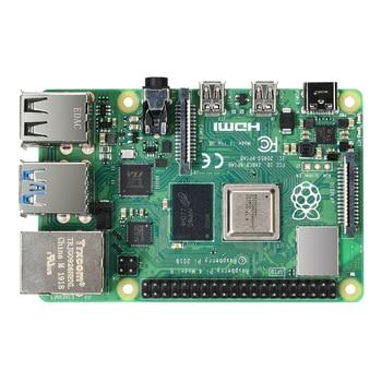 New 4GB RAM Raspberry Pi 4 Model B Development Board Cortex-A72 1.5GHz Support WIFI Bluetooth 5.0 1.5Ghz 3 Speeder Than Pi 3B+ bluetooth 4 ble multifunction pedometer keyfob development board to support the anti lost ibeacon