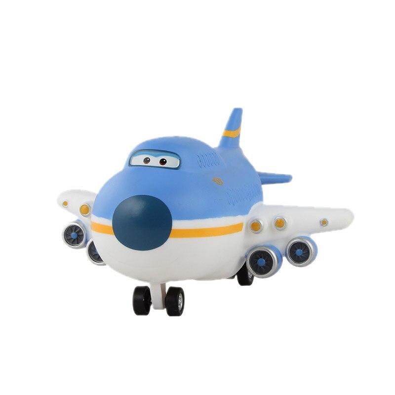 Большой! 15 см ABS Супер Крылья деформация самолет робот фигурки Супер крыло Трансформация игрушки для детей подарок Brinquedos - Цвет: No Box 051