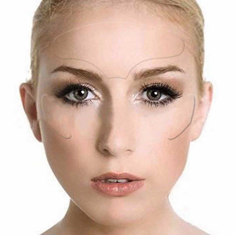 Nuevo artículo, almohadilla facial antiarrugas TSLM1, silicona Invisible de grado médico, reutilizable, Anti-envejecimiento, para prevenir las arrugas de la cara