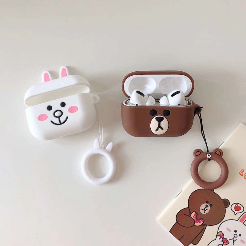 Cute 3D Silicone Case for AirPods Pro 142