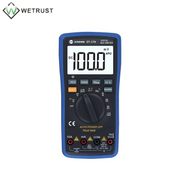 DT-17N Handheld Digital Multimeter LCD Backlight Portable Manual/Auto Range AD/DC Ammeter Voltmeter Ohm Voltage Test Multimeter dt 17n handheld digital multimeter lcd backlight manual portable auto range ad dc voltmeter ammeter ohm voltage test multimeter