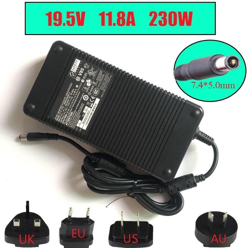 New Genuine AC For HP EliteBook 8740W 8760W 8770W 230W AC Adapter 693714-001