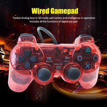 Wired Gamepad for Sony PS2 Controller Joystick plasystation 2 Double Vibration Shock Joypad Controle