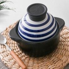 0.6L мини-медленноварка 500 градусов термоустойчивая керамическая керамический горшок детская каша суп 17,5x14,2 см
